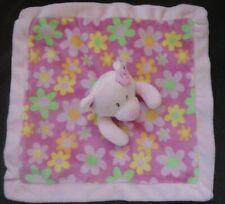 First Impressions Infant Pink Floral Bear Security Blanket