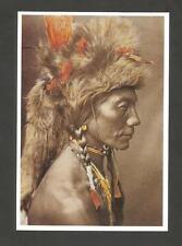 CARTE POSTALE INDIEN AMERIQUE YELLOW KIDNEY PIEGAN