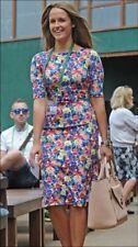 Zara Short Sleeve Stretch, Bodycon Floral Dresses for Women