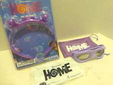 DreamWorks HOME movie Collectibles Lot of 2 Lightup Headband 3D glasses NEW