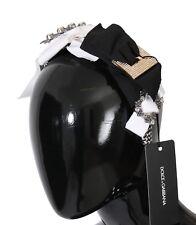 Fashion Jewelry Hair & Head Jewelry Nuevo Dolce & Gabbana Diadema Diademas Cristal Negro Blanco Pelo Parrucchiera