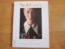 So It Goes Magazine Kate Blanchett New.
