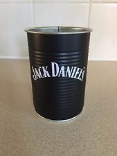 JACK DANIELS BEAN TIN STORAGE POT