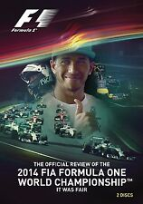 2014 FIA Formula One World Championship The Official Review DVD UK New Sealed R2