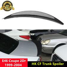 E46 Trunk Spoiler Carbon Fiber Wings for BMW E46 Coupe 1999-2004 HK Style