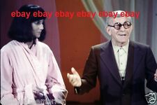 Original Photo 35mm Slide Cher & George Burns Rare! # 2