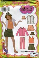 Simplicity Sewing Pattern 5232 Girls Childs Mini Skirt Jacket Size 8.5-16.5