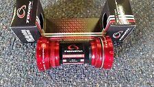 New TOKEN TK877EX MTB Sealed Bearing Bottom Bracket For Shimano , RED BMX MTB