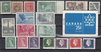 BK6561/ CANADA – 1942 / 1964 MINT MNH LOT – CV 140 $