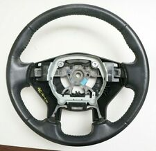 2010-2012 Nissan Altima LH Black Leather Steering Wheel OEM 48430 JA010
