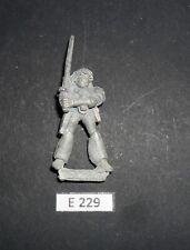 WH40K Rogue Trader Metal RT601 SPACE ADVENTURERS FEMALE WARRIOR JAYNE 1988 E 229