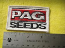 Vintage PAG Feed And Seed Uniform Farm Patch