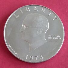 Harry Truman S 1973 cupro nichel PROVA ESSAI PATTERN DOLLAR-CONIO 50