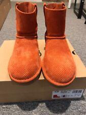New UGG Australia Women's Classic Unlined Mini Perf boots, size 8