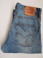 Levi's 507 jeans homme slim boot cut W34 L32 bleu moyen Strauss levj 906 #