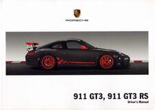 PORSCHE 911 GT3 , GT3 RS - 997 - Drivers Manual 2010 - NEW