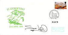 23 APRIL 1994 St GEORGES DAY HAND SIGNED BY ACTRESS SUE JENKINS COMM COVER
