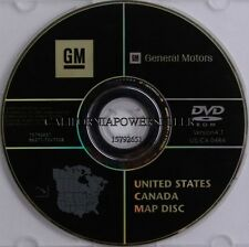 CADILLAC GMC CHEVROLET HUMMER NAVIGATION DVD CD DISC 15792651 DISK GPS MAP 4.1