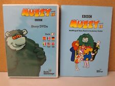 BBC Muzzy II Language Course Kids Learn French Spanish German STORIES 4-DVD