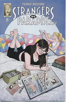 STRANGERS IN PARADISE XXV #8 ABSTRACT STUDIOS  2018 COVER A  1ST PRINT