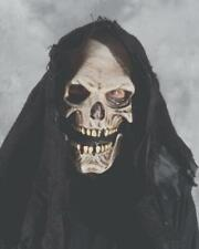 Grim Reaper Mask Skull Monster Rotting Hood Ghost Halloween Costume Party M7013