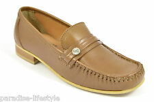 Womens Ladies Loafers Shoes Moccasins Sandals Boots Leather Upper Heels New Size