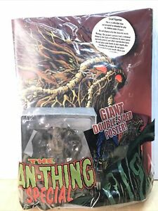 Eaglemoss Man-Thing Special Figurine With Magazine And Poster Bagged