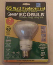Eco Bulb 65 Watt Replacement Soft White Light Energy Saving Feit Electric New