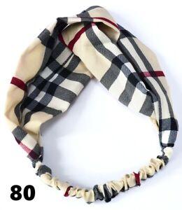 Boho Floral Twist Knot Headband Elastic Wrap Turban Hair Band Hairband Sports