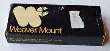 Weaver Mount Base System 301 #08601 Ruger Blackhawk, Super Blackhawk  (467)