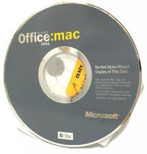 Office: Mac 2001 with License Key in original sleeve Microsoft Suite