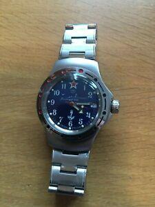 Vostok Amphibia Watch - Submarine Dial