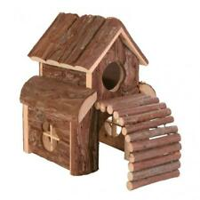 Trixie Natural Living Finn Wooden House with 2 Storeys & Ramp for Hamsters/ Mice