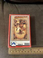 New listing Indiana Jones Last Crusade Video 8 Movie