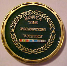 "Korean Veteran Commemorative Medal ""The Forgotten Victory"""