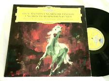 LISZT Hungarian Fantasia Shura Cherkassky Herbert von Karajan DGG dg LP