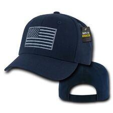 rapdom Tactical brodé USA opérateur casquette bonnet W US DRAPEAU NAVY BLUE
