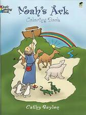 Noah's Ark Coloring Book - easy-to-color pictures from Dover Publications NEW PB