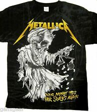 METALLICA cd lgo TIP THE SCALES Official SHIRT XL New and justice for all