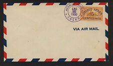Panama C5 on first day cancel cover 1930 Ms0315