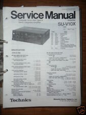 Service Manual technics su-v10x amplifier, original