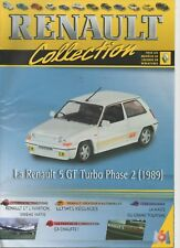 R 5 GT turbo phase 2 fascicule Booklet Revue RENAULT M6