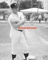 Mickey Mantle New York Yankees Glossy 8 x 10 Photo Picture BWH1
