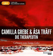 Hörbuch Camilla Grebe & Asa Träff DIE THERAPEUTIN 2 MP3-CDs ## NEU - OVP ##