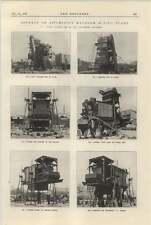 1925 Asphalt Mixing Plant Davey Paxman Photographs Friction