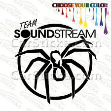 "1 of 5"" Soundstream Tarantula Team Audio aftermarket car window sticker decal"