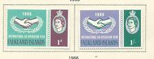 1965 ICY Set of 2 Mint Hinged as per Scan