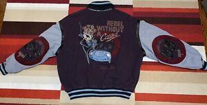 Iceberg History Men's Vintage Jacket Bomber 1992 SZ 50 Large Classic