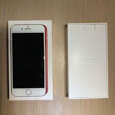 UNLOCKED iPhone 7, Red, 128GB w/ headphones & adapter