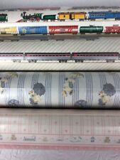 Dollhouse Wallpaper Baby Nursery Trains Little Boys Ducks Mini Graphics 4 Rolls
